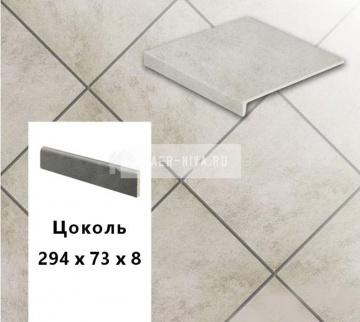 Клинкерный цоколь Stroeher KERAPLATTE ASAR 620 Sass, 294х73х8