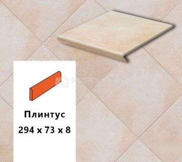 Клинкерный плинтус Euramic CADRA E520 Sare, 294х73х8