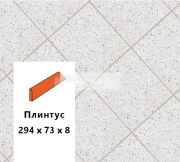 Клинкерный плинтус Euramic MULTI E 824 delta, 240х73х8 мм