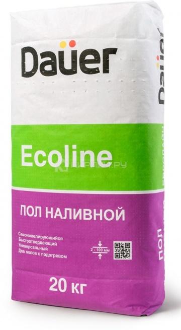 Наливной пол быстротвердеющий Daüer EСOLINE 20 кг