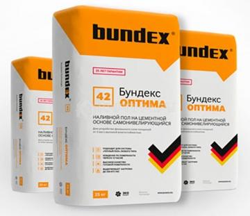 Наливной пол самоневелирующийся Бундекс Оптима Bundex, 25 кг