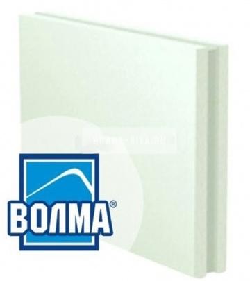 Пазогребневые гипсовые плиты ВОЛМА влагостойкие полнотелые 667x500x100