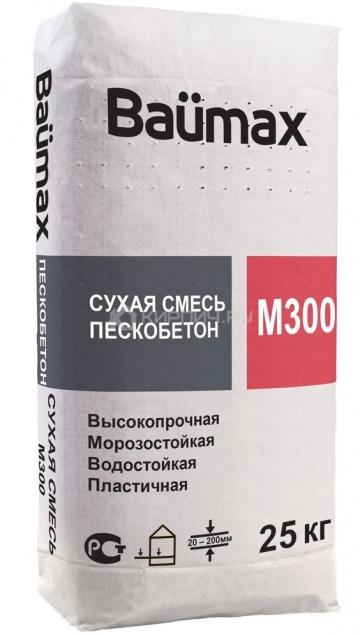 Пескобетон Baumax М-300 25 кг