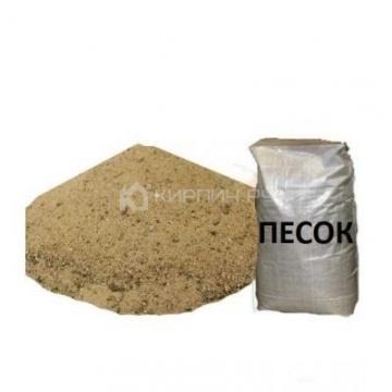Песок строительный 30 кг.