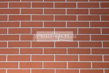 Плитка фасадная керамическая Керма Красный 250х65х10