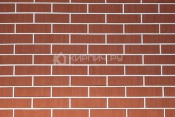 Плитка фасадная керамическая Керма Красный бархат 250х65х10