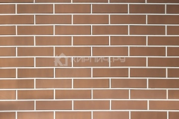 Плитка фасадная керамическая Керма Терракот 250х65х10
