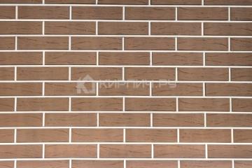 Плитка фасадная керамическая Керма Терракот рустик 250х65х10