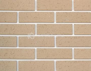Плитка фасадная клинкерная ADW Partenit текстурированная бежевая 240х71х8
