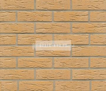 Плитка фасадная клинкерная Feldhaus Klinker R240DF9 Amari senso рельефная, 240x52x9