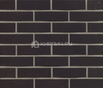 Плитка фасадная клинкерная Feldhaus Klinker R700DF9 Аnthracit liso гладкая, 240x52x9