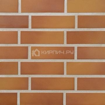 Плитка фасадная клинкерная Stroeher KERAVETTE CHROMATIC и FLAME E 305 puma гладкая неглазурованная NF11, 240x71x11