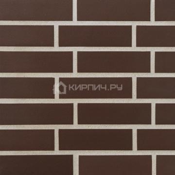 Плитка фасадная клинкерная Stroeher KERAVETTE SHINE 825 sherry гладкая глазурованная DF8, 240x52x8