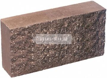 Плитка гиперпрессованная для цоколя терракот рустированная 250х120х30