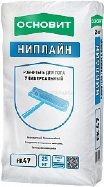 Ровнитель для пола универсальный НИПЛАЙН FK47 ОСНОВИТ 25 кг