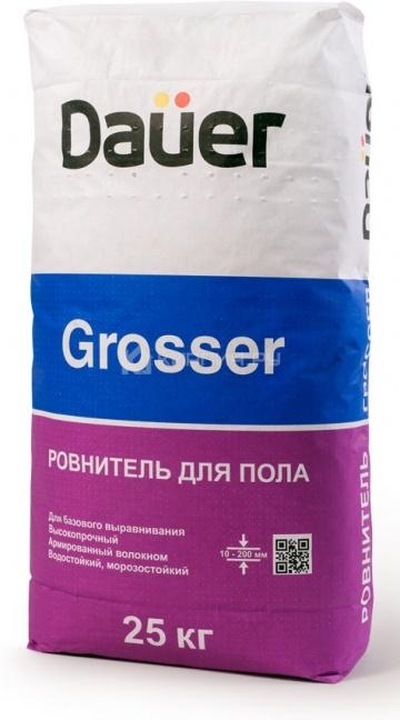Ровнитель для пола высокопрочный Dauer GROSSER 25 кг
