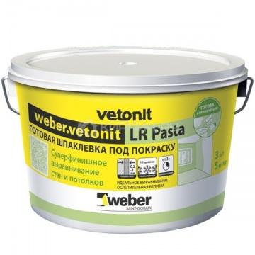 Шпатлёвка полимерная Weber Vetonit LR Pasta 5 кг