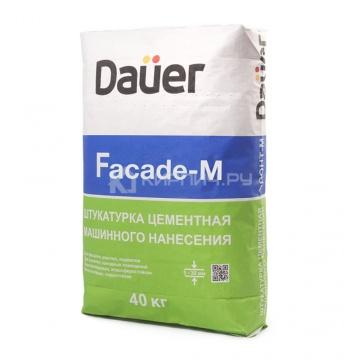 Штукатурка цементная армированная DAUER Fasad-М, 25 кг