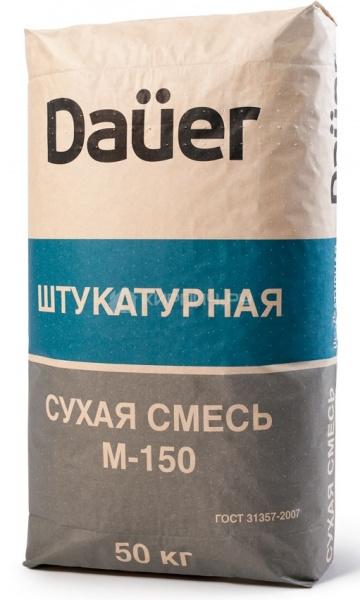 Штукатурная смесь М-150 DAUER 50 кг