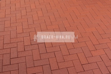 Тротуарная клинкерная брусчатка Feldhaus Klinker P402 Gala plano 200x100x40 мм