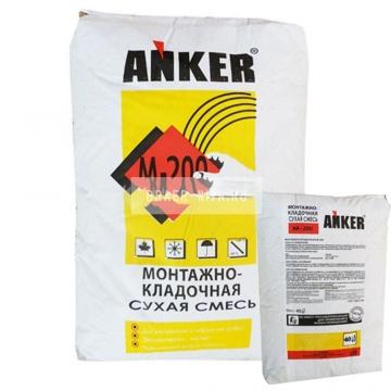 Универсальная кладочная смесь АНКЕР М-200 40 кг