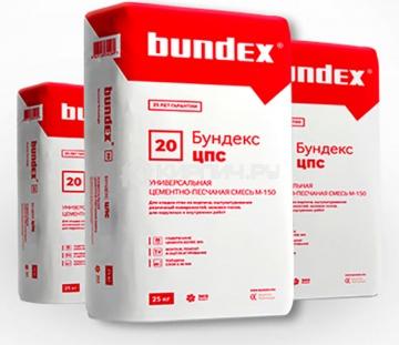 Универсальная смесь Бундекс М-150 Bundex. 25 кг