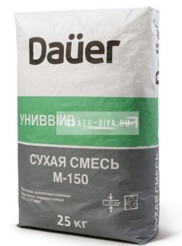 Универсальная смесь DAUER М-150 25 кг (ПМД -10 С)