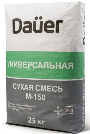 Универсальная смесь DAUER М-150 25 кг