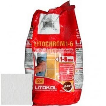 Затирка цементная Litokol Litochrom 1-6 C.20 светло-серая 2 кг