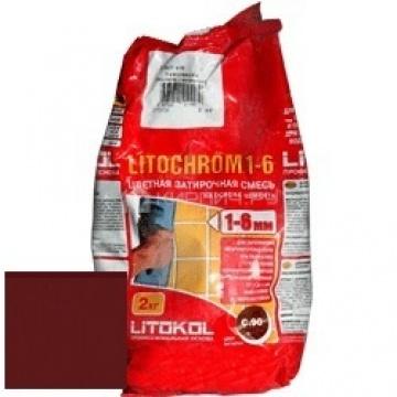 Затирка цементная Litokol Litochrom 1-6 C.200 венге 2 кг