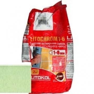 Затирка цементная Litokol Litochrom 1-6 C.330 киви 2 кг