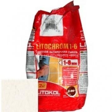 Затирка цементная Litokol Litochrom 1-6 C.50 светло-бежевая/жасмин 2 кг