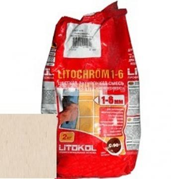 Затирка цементная Litokol Litochrom 1-6 C.60 бежевая/Багамы 2 кг