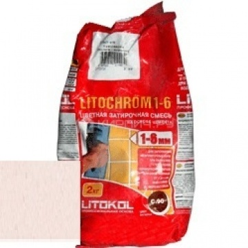 Затирка цементная Litokol Litochrom 1-6 C.70 светло-розовый 2 кг