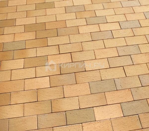 Тротуарная клинкерная брусчатка Feldhaus Klinker P203 Areno trigo 240х118х52